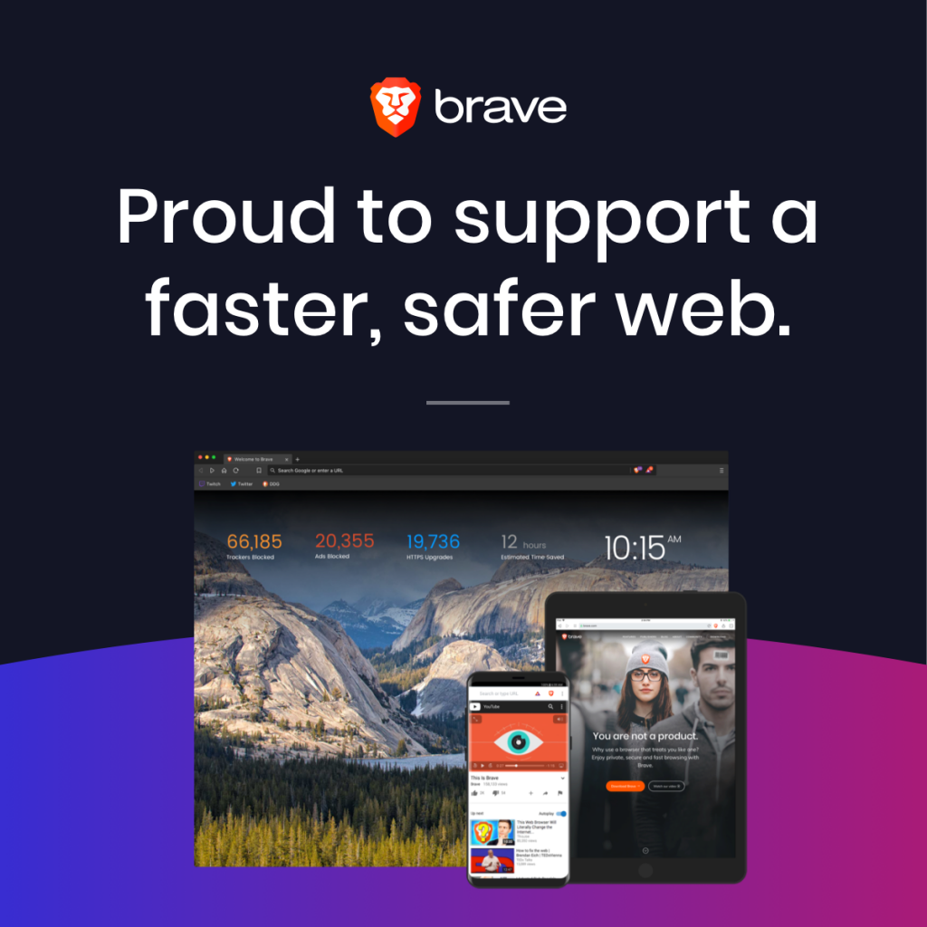 Download the Brave Browser for FREE!
